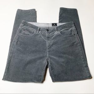 AG The Stevie Ankle corduroy pants grey size 29R